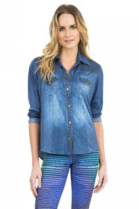 Cool & Comfy Denim Shirt