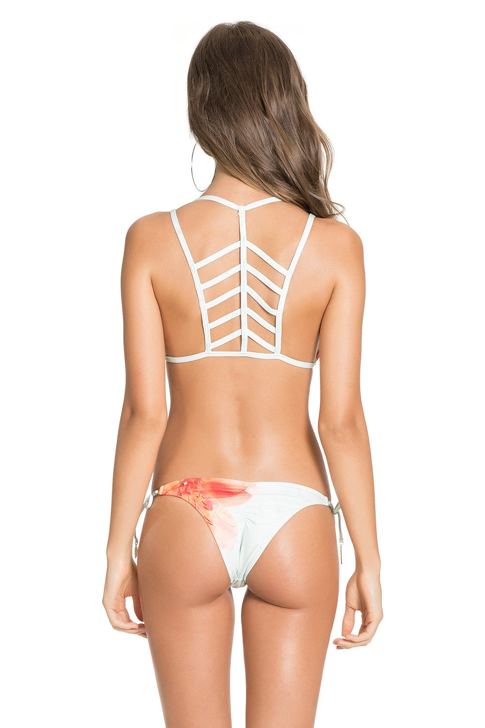 Unique Tropicalia Lace Up Bottom