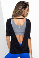 Ballerina Cut Top