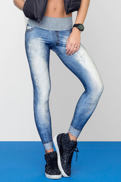 Live Denim Legging - Activewear