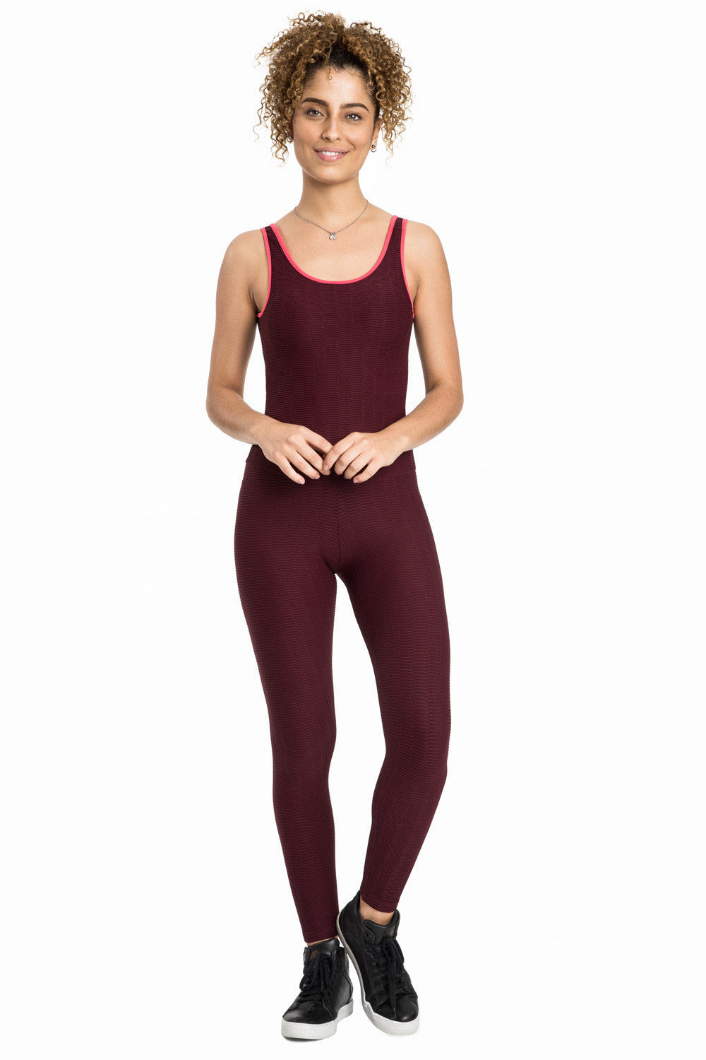 Jacquard Gym Jumpsuit