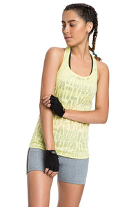 Cut See Hard Fit Tank Top