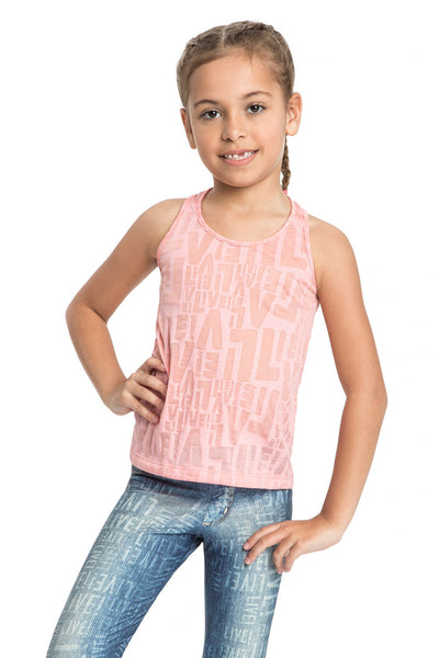 Devore See Kids Tank Top