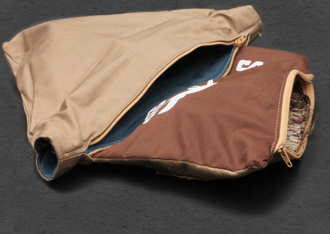 Stank Weasel Espresso Bag Open Compartments
