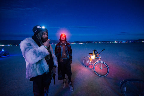 burning man lights