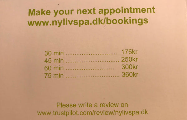NyLivSpa Club Membership Card