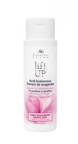 Lift Up – Cleansing milk for eyes with Hyaluronic Acid and Magnolia Extract (150 ml)
