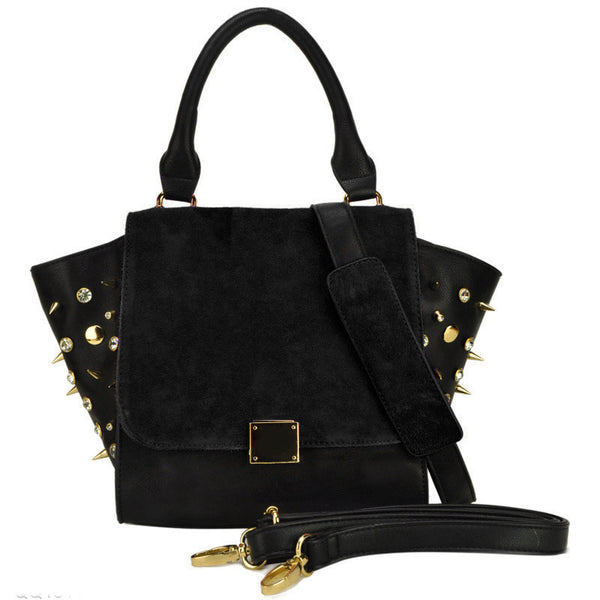 Ladies Bag Hard Black