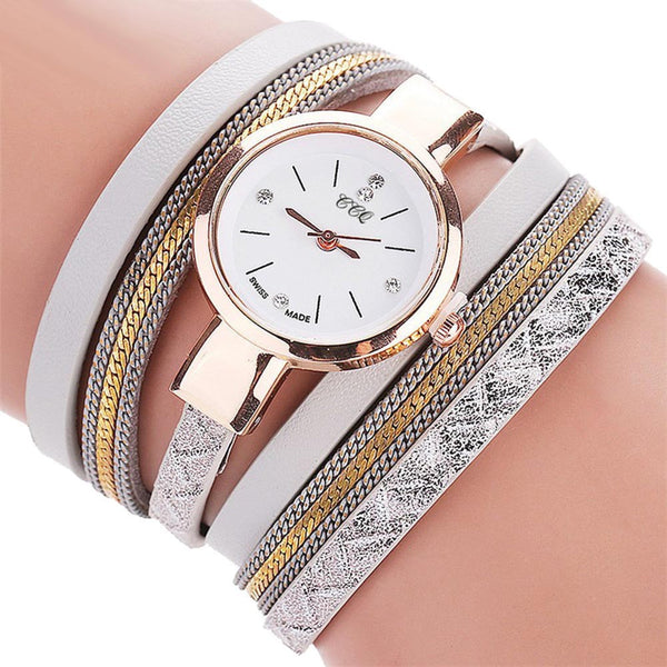 CCQ Women Fashion Casual Analog Quartz Women  Watch Bracelet Watch