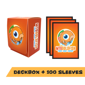 Deck Box + Sleeves Bundle (Orange)