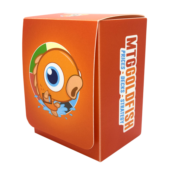 MTGGoldfish Deck Box (Orange)