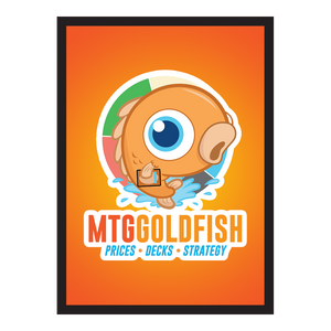 MTGGoldfish Sleeves - 50 ct (Orange)