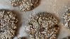 Tahini Ginger Hemp Honey Chocolate Chip Cookies
