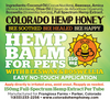 Hemp Balm for Pets with Beeswax and Boswellia 150 mg