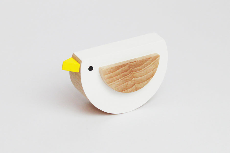 Kutulu Pipa Wooden Bird