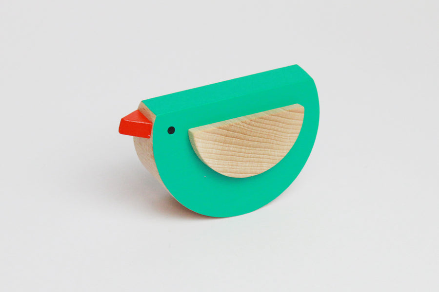 Kutulu Pipo Wooden Bird