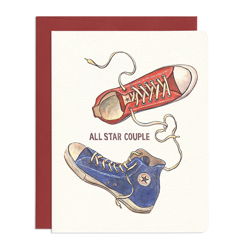 All Star Couple Greeting Card