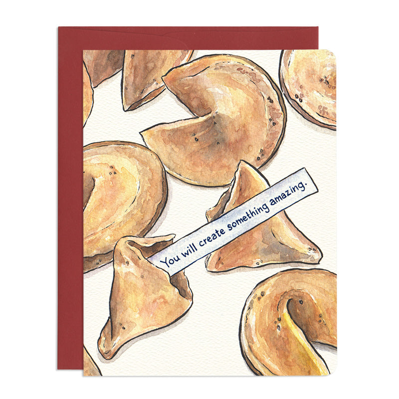 Smart Cookie Greeting Card