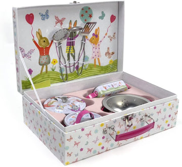 F+R Tin Bunny Kitchen Set