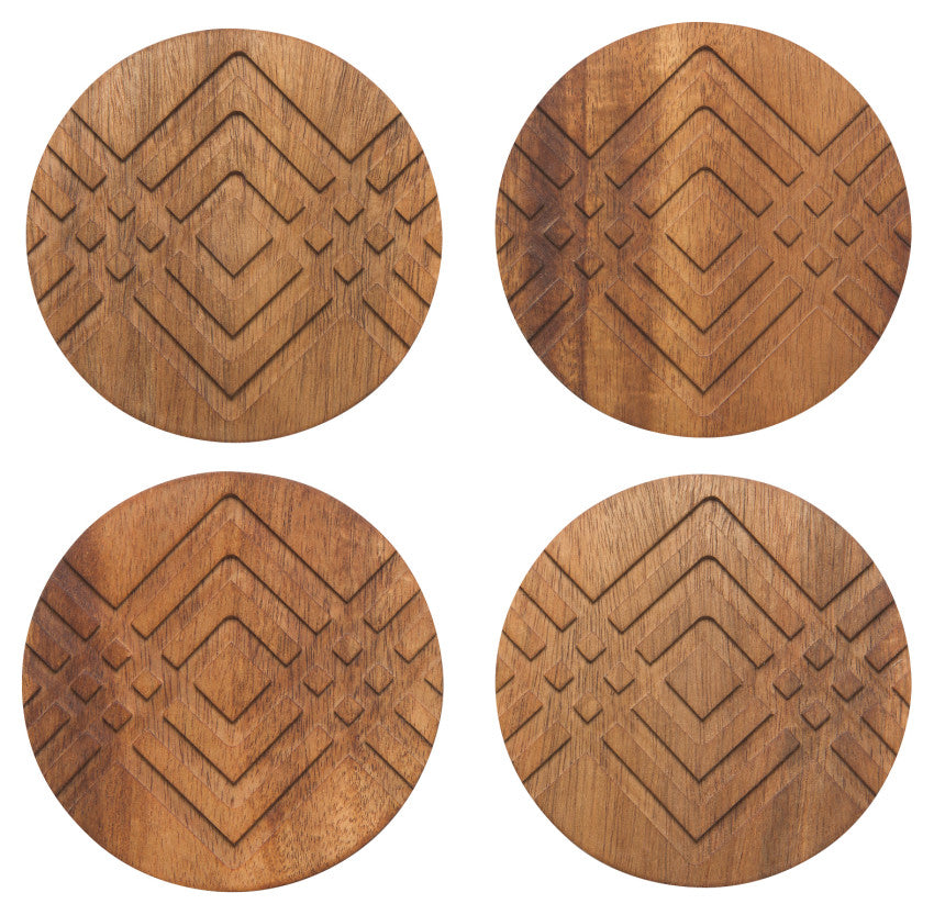 Facet Geo Coasters (Set of 4)