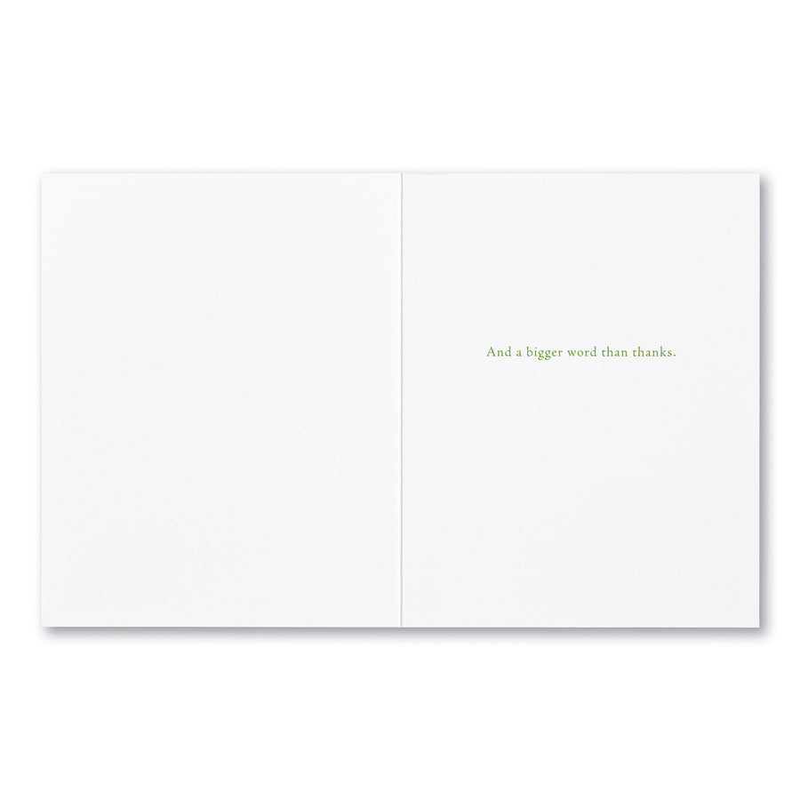 Brighter Word Thank You Card