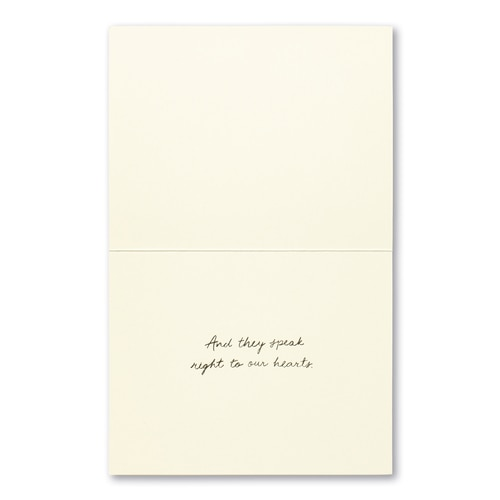Too Big for Words Greeting Card
