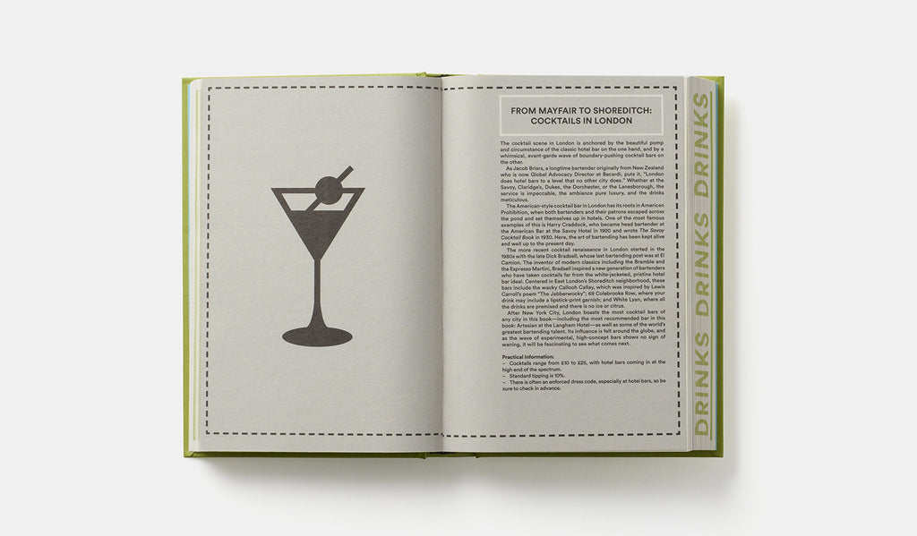 Where Bartenders Drink Book