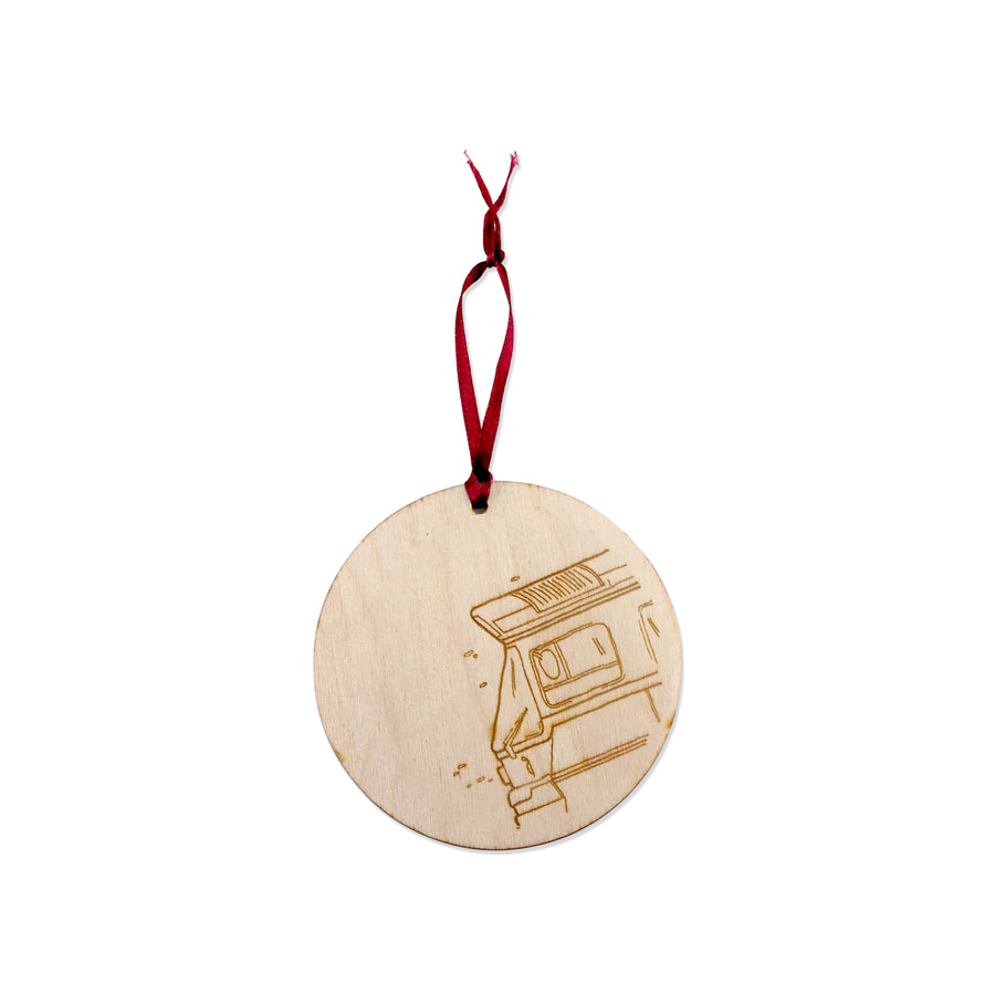 Red Rocket Ornament