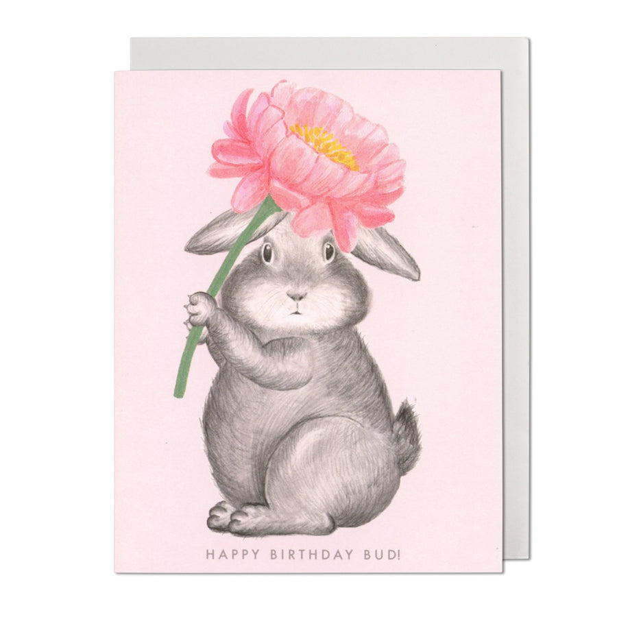 Happy Birthday Bud Greeting Card
