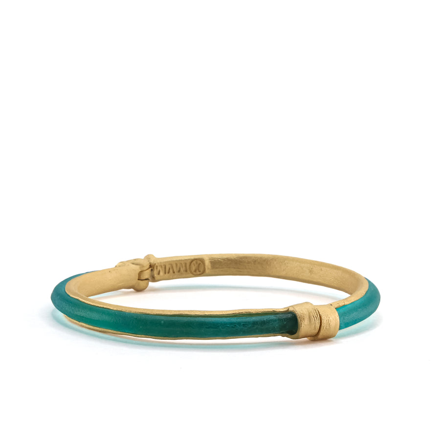 Michael Vincent Michaud - Bubble Magnetic Bangle - Teal
