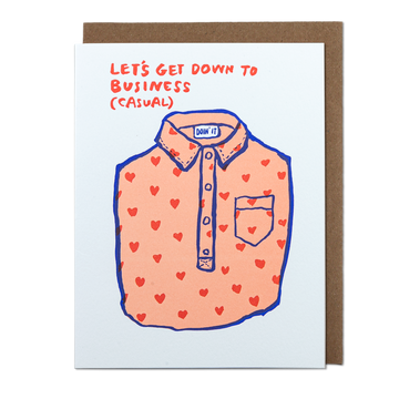 Business Casual Greeting Card