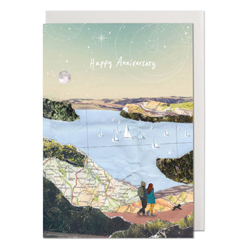 Country Walk Greeting Card
