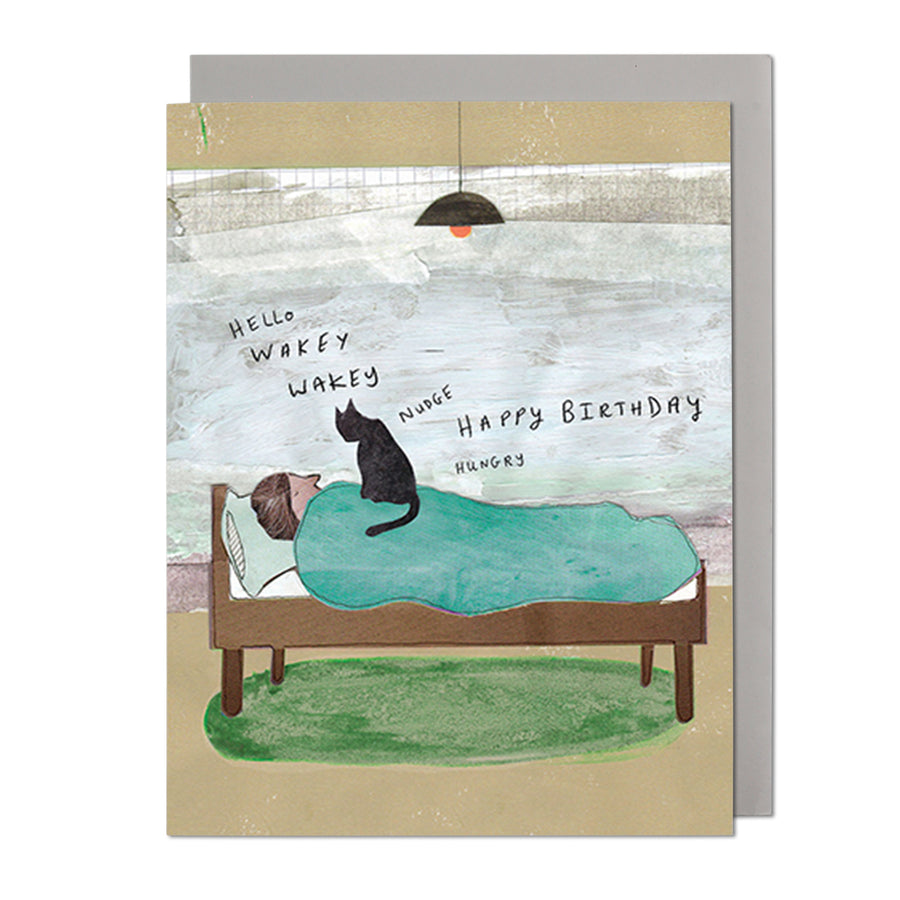 Wakey Wakey Birthday Card