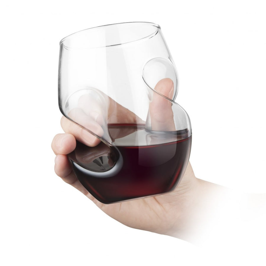 Final Touch - Conundrum Red Wine Glasses (Set of 4)