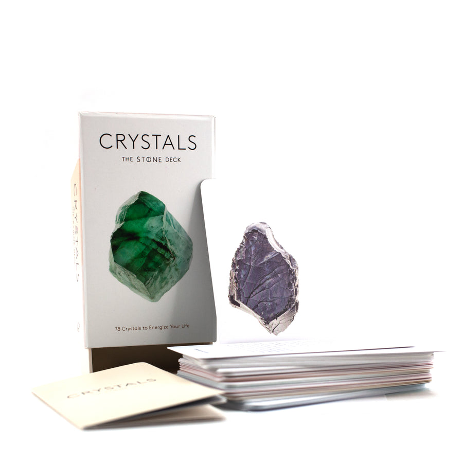 Crystals - The Stone Card Deck