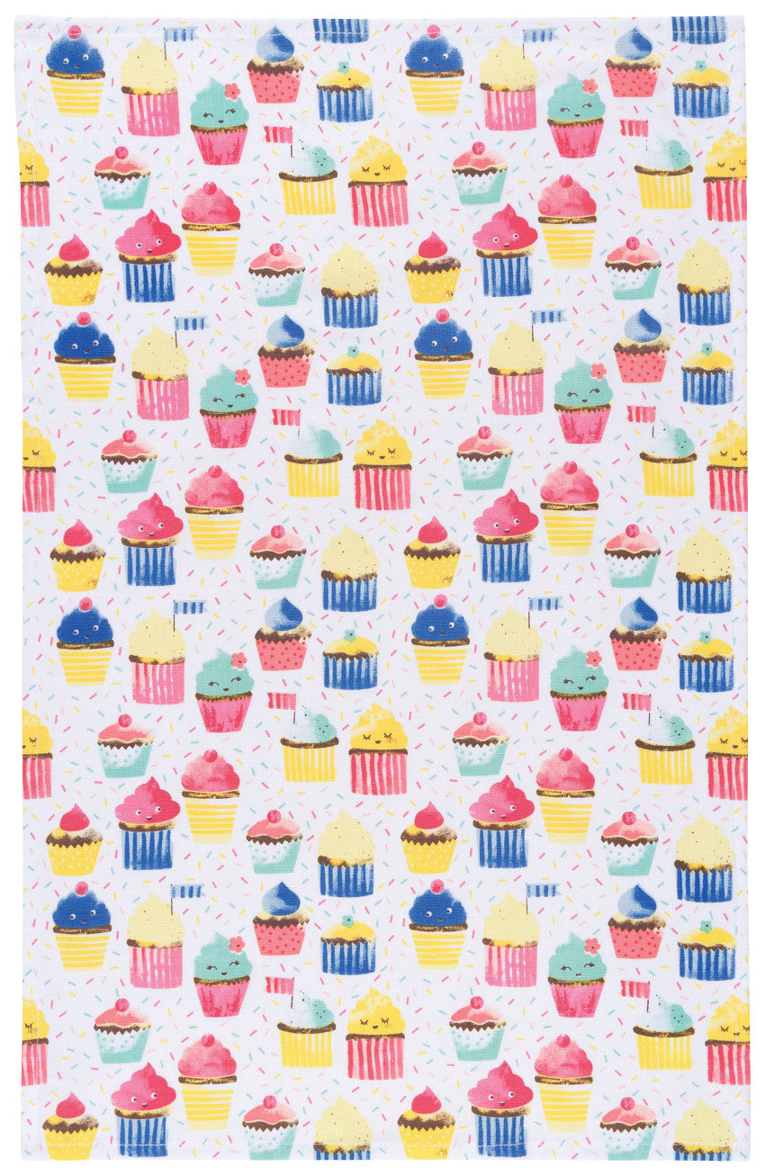 Cupcake Tea Towels (Set of 2)