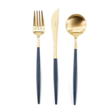 Cutipol - Goa Blue and Gold Cutlery Set