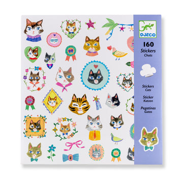 Cat Stickers (Set of 160)