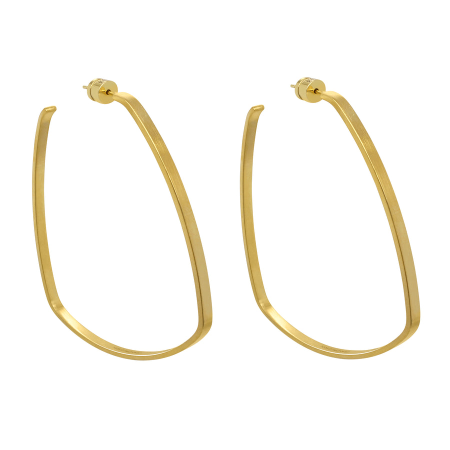 Dean Davidson - Square Hoops in Gold