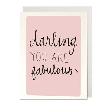 Fabulous Darling Greeting Card