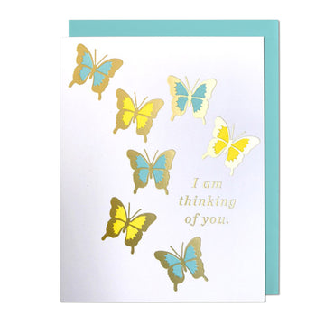 Butterfly Thinking of You Greeting Card