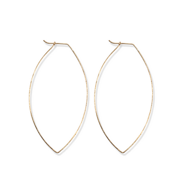 Fine & Good - Large Leaf Hoops
