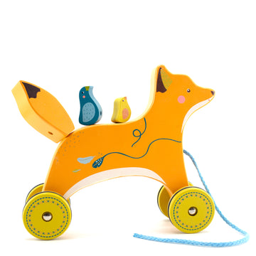 Fox Pull-Along Toy