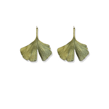 Michael Michaud - Gingko Wire Earrings