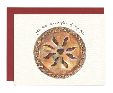 Apple of My Pie Greeting Card
