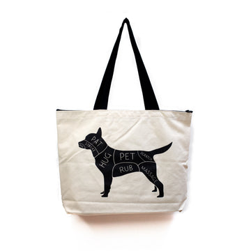 Gotamago Cat & Dog Petting Eco Tote
