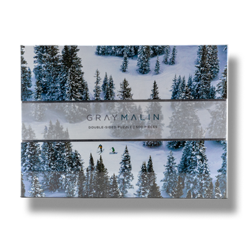 Gray Malin Double Sided Puzzle - Snow