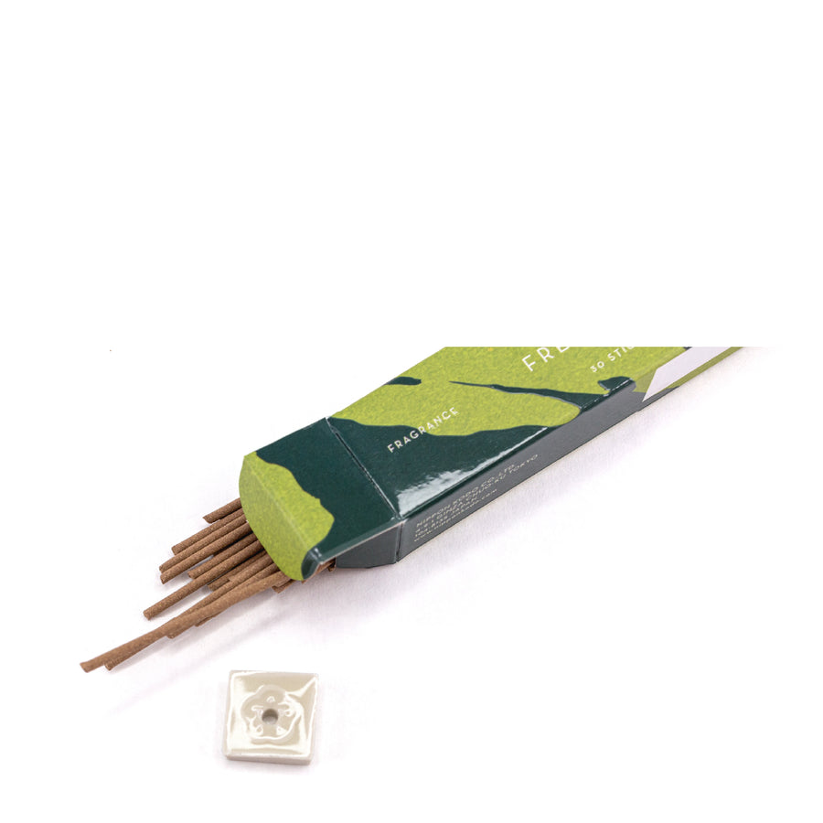 Scentsual Incense in Fresh Green Tea