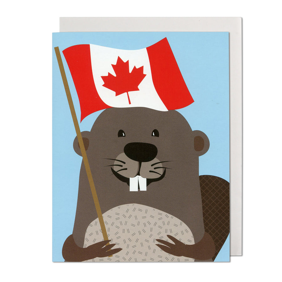 Beaver Canada Greeting Card