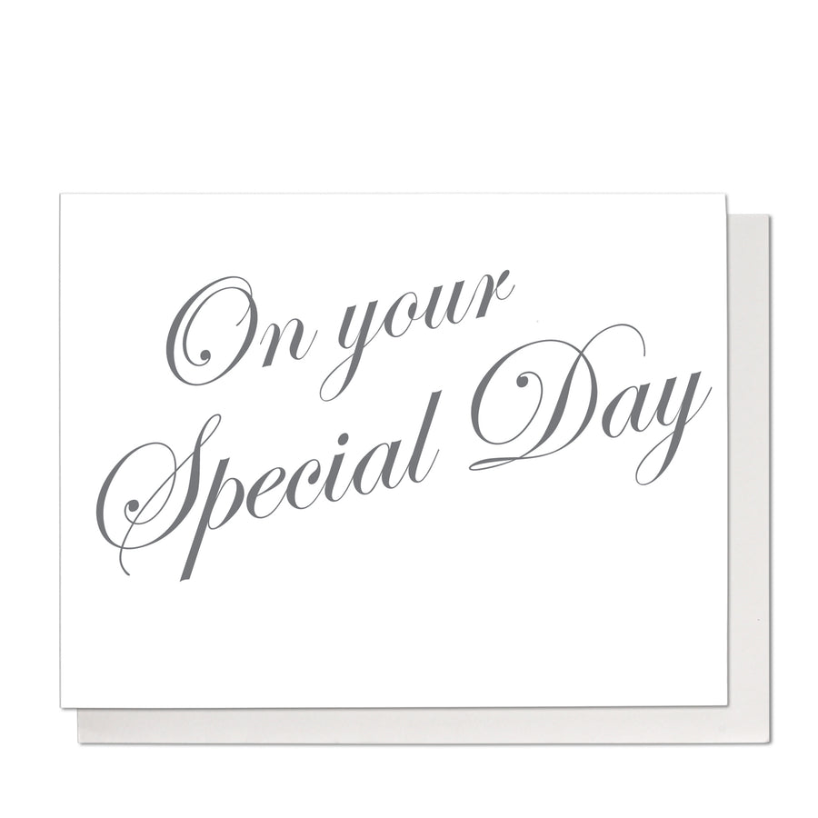 On Your Special Day Greeting Card
